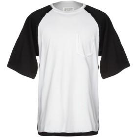 《期間限定セール開催中!》MAISON MARGIELA メンズ T シャツ ホワイト 50 100% コットン