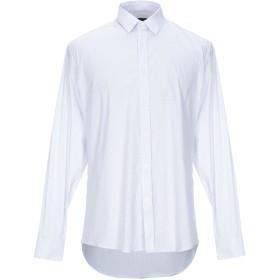 《期間限定セール開催中!》GREY DANIELE ALESSANDRINI メンズ シャツ ホワイト 40 コットン 97% / ポリウレタン 3%