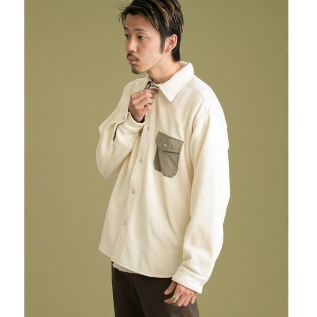 [マルイ]【セール】メンズシャツ(ナイロン切替フリースシャツ)/アーバンリサーチ サニーレーベル(メンズ)(URBAN RESEARCH Sonny Label)