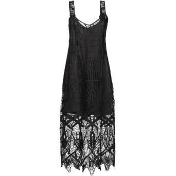 《セール開催中》RELISH レディース 7分丈ワンピース・ドレス ブラック S ポリエステル 100%