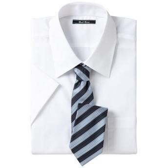 【メンズ】 形態安定ビジネスシャツ(半袖) - セシール ■カラー:レギュラーカラー ■サイズ:M,L,LL