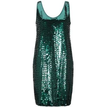 《セール開催中》ARMANI EXCHANGE レディース ミニワンピース&ドレス エメラルドグリーン 2 ナイロン 100% / ポリエチレンテレフタラート