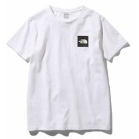 ノースフェイス:【レディース】ショートスリーブリーブスクエアロゴティー【THE NORTH FACE カジュアル シャツ 半袖 Tシャツ】