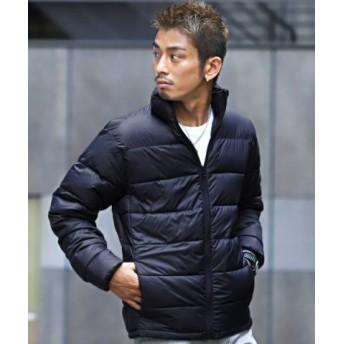 (LUXSTYLE/ラグスタイル)中綿ダウンタッチ高密度ナイロンブルゾン/中綿ジャケット メンズ ブルゾン ダウンタッチ 高密度 ナイロン/メンズ ネイビー
