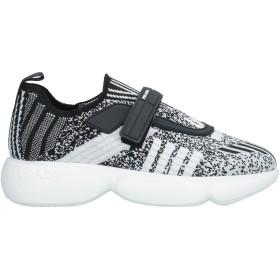 《セール開催中》PRADA レディース スニーカー&テニスシューズ(ローカット) ブラック 37 紡績繊維