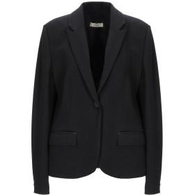 《期間限定セール開催中!》MARANI JEANS レディース テーラードジャケット ブラック 46 ポリエステル 65% / ポリウレタン 35%