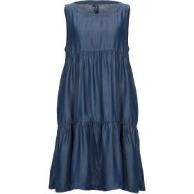 《セール開催中》AVANTGAR DENIM by EUROPEAN CULTURE レディース ミニワンピース&ドレス ブルー XXS テンセル 100%
