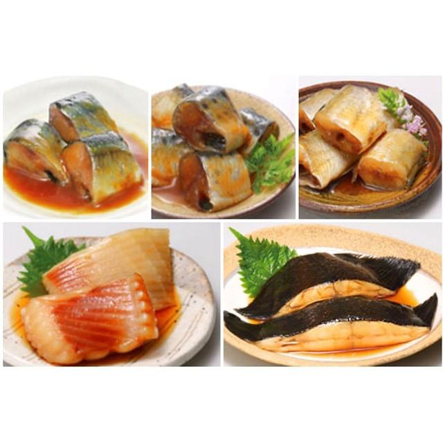 【北海道根室産】煮付け12種詰合せセット
