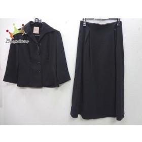 シビラ Sybilla スカートスーツ サイズL レディース 美品 黒 ロングスカート 新着 20190905