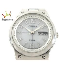 シチズン CITIZEN 腕時計 wicca E001-S049105 レディース 白 新着 20190905