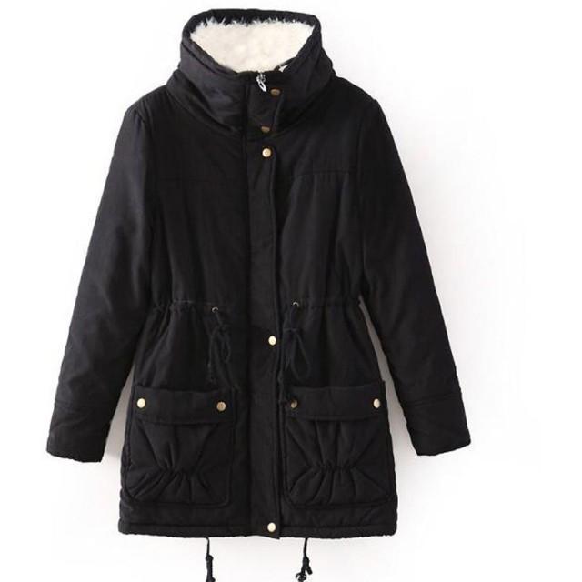 ENVOY(エンヴォイ) ロング丈 ミリタリージャケット レディース 中綿 防寒 チェスターコート 冬 暖かい アウター 厚手