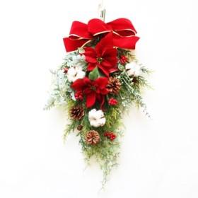 「Creema限定販売」【送料無料】クリスマススワッグリース