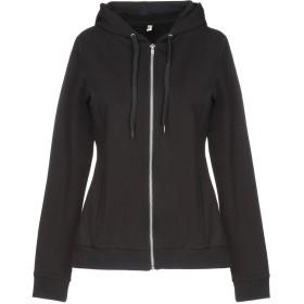 《期間限定セール開催中!》MOSCHINO レディース スウェットシャツ ブラック XS コットン 95% / ポリウレタン 5%