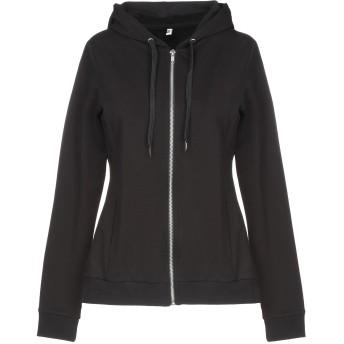 《セール開催中》MOSCHINO レディース スウェットシャツ ブラック XS コットン 95% / ポリウレタン 5%