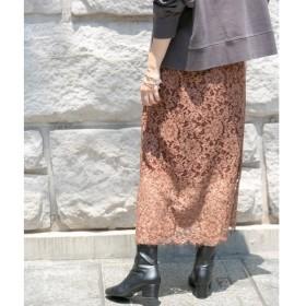 KBF+ 製品染めレーススカート