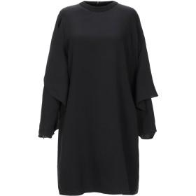 《セール開催中》BURBERRY レディース ミニワンピース&ドレス ブラック 42 シルク 100% / ナイロン / ポリウレタン