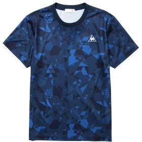 ルコック Tシャツ メンズ 上 le coq sportif 半袖 吸汗 速乾 ドライ UVカット グラフィック Lサイズ
