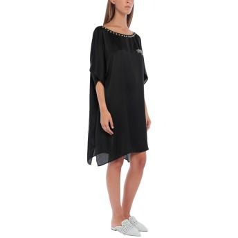 《セール開催中》MOSCHINO レディース ビーチドレス ブラック one size レーヨン 100%