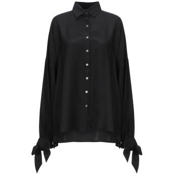 《セール開催中》P.A.R.O.S.H. レディース シャツ ブラック XS シルク 100%