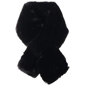 ファーマフラー ファー ティペット フェイクファー マフラー 差し込み ボア 巻き物 Fサイズ/ブラック(07)