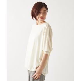BEARDSLEY(ビアズリー) レディース ウールドルマンTシャツ ホワイト