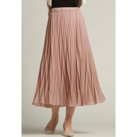 Droite lautreamont ハイツイストシフォンスカート その他 スカート,ピンク