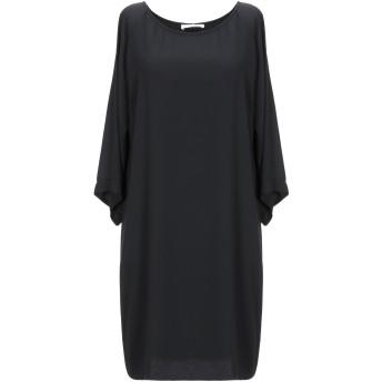 《セール開催中》PAOLO CASALINI レディース ミニワンピース&ドレス ブラック S ポリエステル 100%
