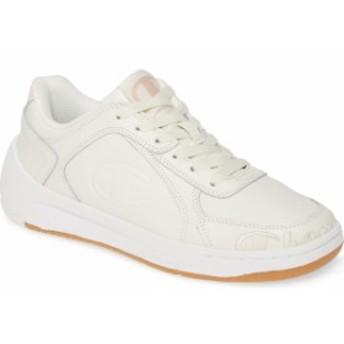 チャンピオン レディース スニーカー シューズ Champion Super C Court Low Mono Sneaker (Women) Chalk White