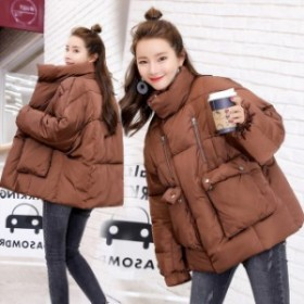 綿入れの女 冬新型ダウン ダウンジャケコート ショ 綿入れ女子 アウターFD フードコート棉服さん レディース ゆとり