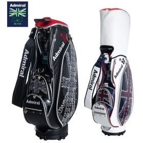 アドミラル ゴルフ ランパントフラッグ CB ADMG9FC2 カート キャディバッグ ブラック/トリコロール ADMIRAL ゴルフバッグ