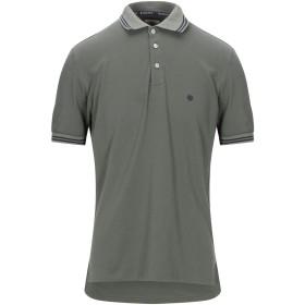 《期間限定セール開催中!》BAGUTTA メンズ ポロシャツ ミリタリーグリーン M コットン 94% / ポリウレタン 6%