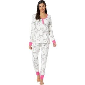 [ベッドヘッド] レディース ナイトウェア Long Sleeve Henley Pajama Set [並行輸入品]