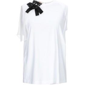 《期間限定セール開催中!》N°21 レディース T シャツ ホワイト 40 コットン 100%