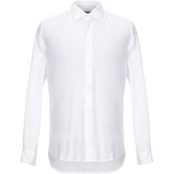 《期間限定セール開催中!》ALTEA メンズ シャツ ホワイト M コットン 97% / ポリウレタン 3%