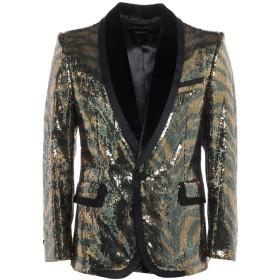 《セール開催中》MARC JACOBS メンズ テーラードジャケット イエロー 50 ポリエステル 100% / コットン / ナイロン / ポリウレタン