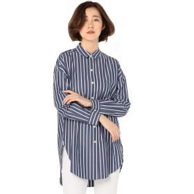 (ノーリーズ) NOLLEY'S ボリュームロングシャツ 9-0036-5-01-007 38 ネイビー系3