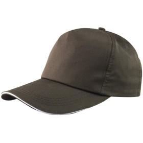 ビエスディディ キャップ 綿 無地 ロゴのカスタマイズと刺繍が可能 レディース コーヒー L(58-60cm)