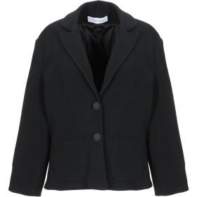 《セール開催中》CRISTINAEFFE COLLECTION レディース テーラードジャケット ブラック 48 アクリル 52% / ポリエステル 35% / ナイロン 11% / ポリウレタン 2%