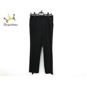 ダックス DAKS パンツ サイズ40 L レディース 黒  値下げ 20191210