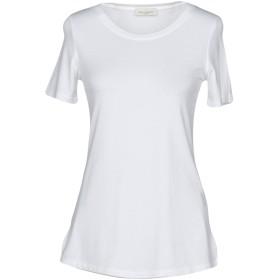 《期間限定セール開催中!》BRUNO MANETTI レディース T シャツ ホワイト 42 95% レーヨン 5% ポリウレタン