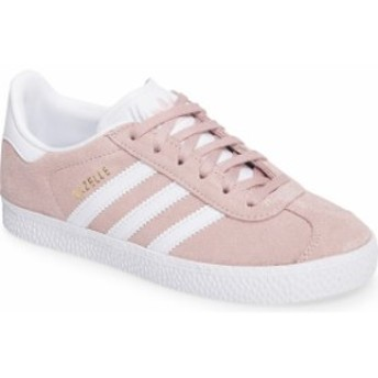 アディダス レディース スニーカー シューズ adidas Gazelle Sneaker (Toddler, Little Kid & Big Kid) Icy Pink/ White/ Gold