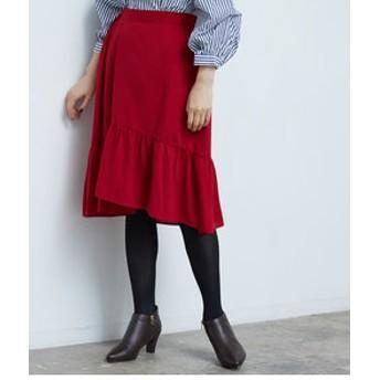 新規会員登録で3,000円OFF!【ROPE' PICNIC:スカート】麻調ティアードスカート