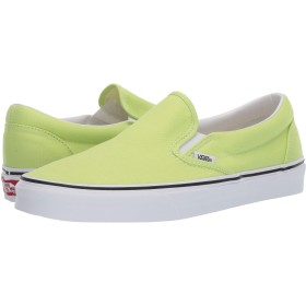 [VANS(バンズ)] メンズスニーカー・靴 Classic Slip-On Sharp Green/True White Men's 6, Women's 7.5 (24m(レディース24.5cm)) Medium [並行輸入品]