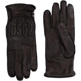 《期間限定セール開催中!》DSQUARED2 メンズ 手袋 ブラック 8 羊革(ラムスキン) 100%