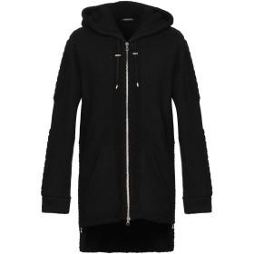 《セール開催中》BALMAIN メンズ スウェットシャツ ブラック S ウール 60% / ナイロン 40%