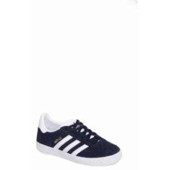 アディダス レディース スニーカー シューズ adidas Gazelle Sneaker (Toddler, Little Kid & Big Kid) Collegiate Navy/ White