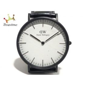 ダニエルウェリントン Daniel Wellington 腕時計 美品 - ボーイズ 白 新着 20190905