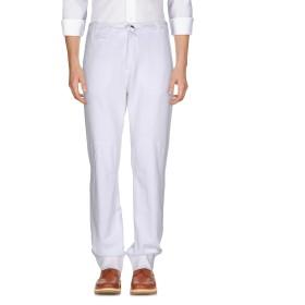 《期間限定セール開催中!》DIADORA HERITAGE メンズ パンツ ホワイト S コットン 100%