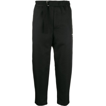 OAMC cropped tailored trousers - ブラック