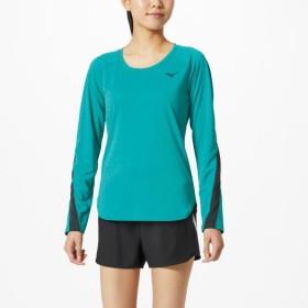 MIZUNO SHOP [ミズノ公式オンラインショップ] ロングスリーブシャツ[レディース] 32 ブルーグラス 32MA9840